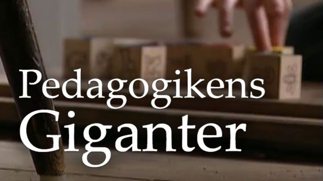 Pedagogikens giganter