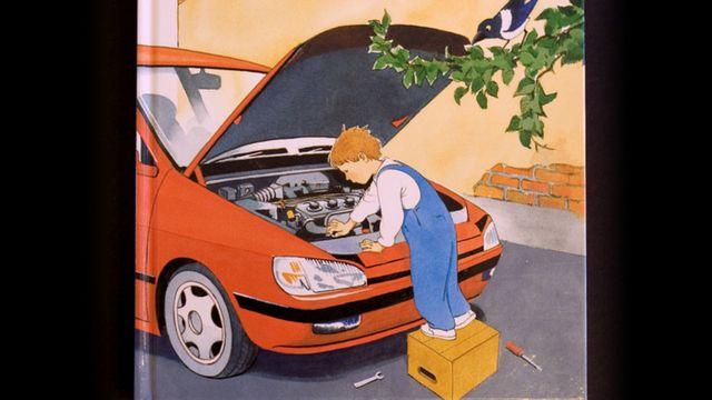 Småsagor : Jag kan laga alla bilar