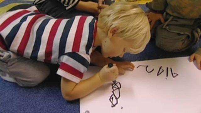Barnet och orden - om språk i förskolan : Lära läsa tidigt