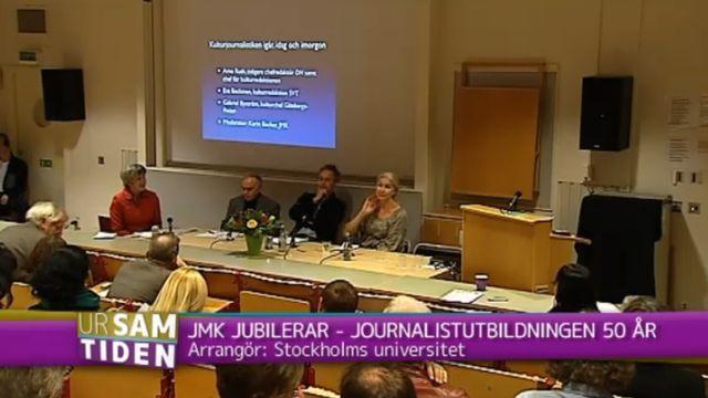 UR Samtiden - JMK jubilerar - journalistutbildningen 50 år : Digitaliseringens effekter på journalistiken