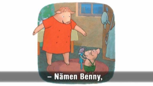 Läs-med-sagor : Nämen Benny