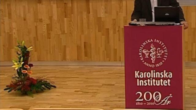 UR Samtiden - KI 200 år: Populärvetenskapliga föreläsningar : Introduktion Smärta och epigenetik
