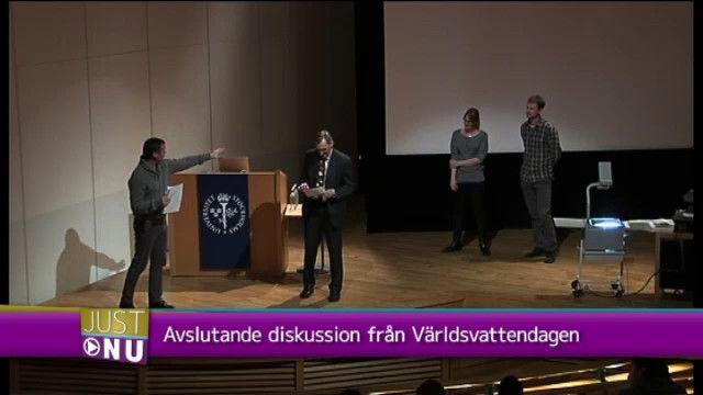 UR Samtiden - Världsvattendagen : Diskussion