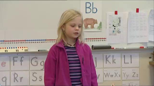 Barn av sitt språk : Tala inför klass