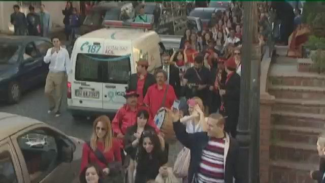 Det röda hjulet : Hidrellez, turkisk-romska aktivister och finsk-romska visor