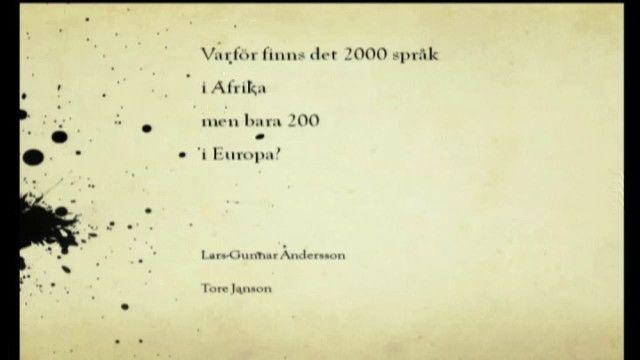 UR Samtiden - Bok och bibliotek 2010 : 2000 språk i Afrika