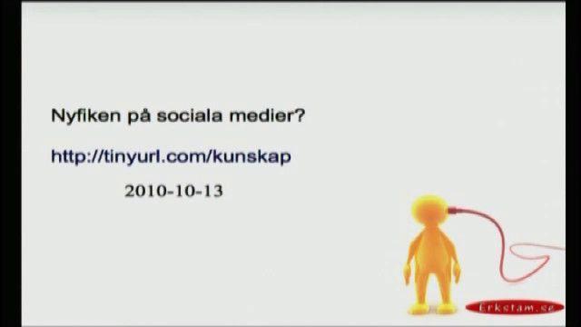 UR Samtiden - Tillgänglighet i tiden : Sociala mediers betydelse
