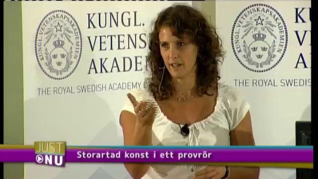 UR Samtiden - Nobelpriset 2010 : Storartad konst i provrör