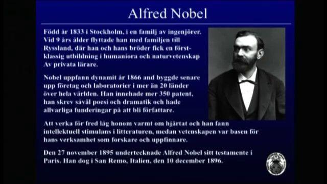 UR Samtiden - Nobelpriset 2010 : Så utses en vinnare