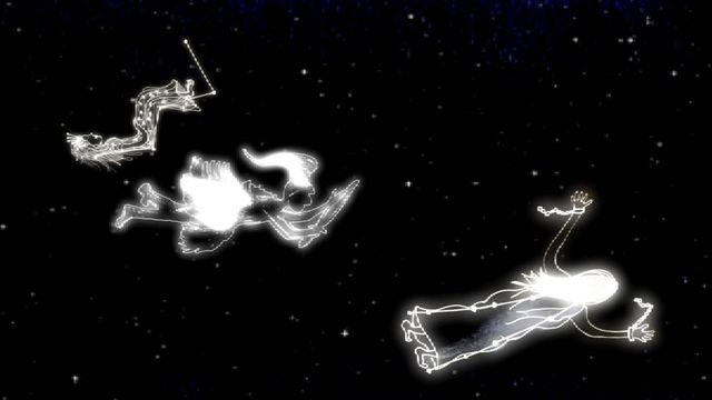 Himlagrisar och stjärnkastruller : Kassiopeia och Södra korset