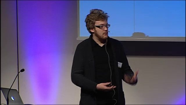 UR Samtiden - Internetdagarna : Sociala medier i valrörelsen: Anders Larsson