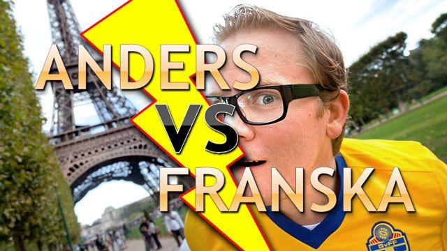Anders vs franska : Anders hittar rätt
