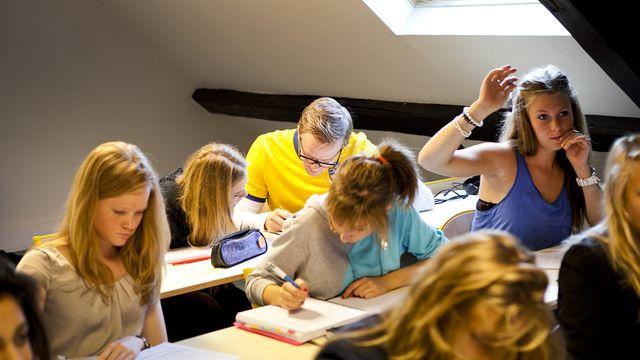 Anders vs franska : Anders i skolan