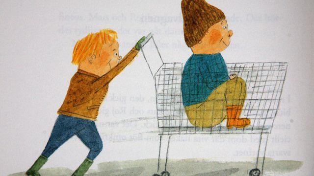 Mats och Roj : Kundvagnen