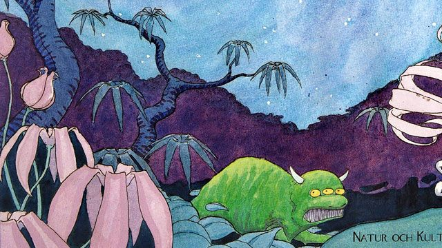 Småsagor - lulesamiska : Djungelnatt