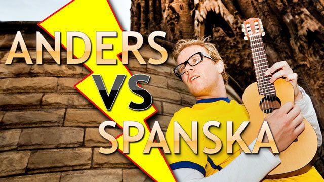 Anders vs spanska : Anders hittar rätt