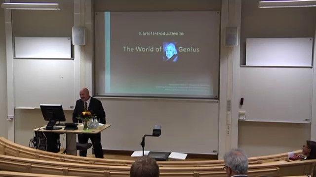 UR Samtiden - Installationsföreläsningar i Jönköping : Geniernas värld