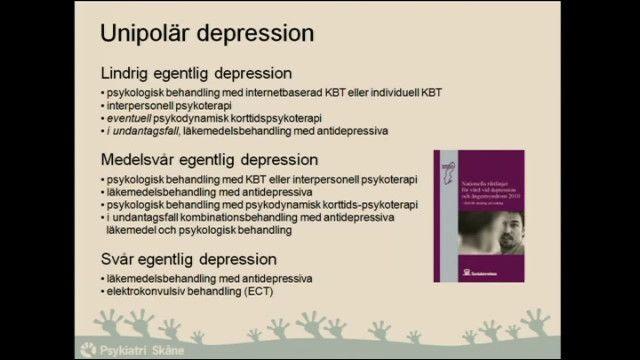 UR Samtiden - Depression och mani : Att behandla känslor i obalans