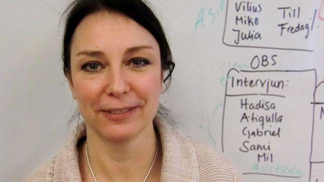 Lärarrummet : Lotta Ahlström