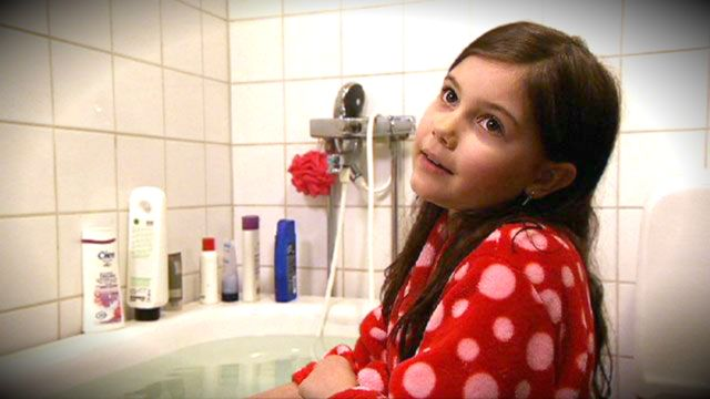 Kayos krita : Smältande is och ett varmt bad