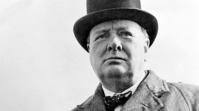 Speakers' corner : Sir Winston Churchill