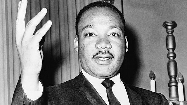 Speakers' corner : Dr Martin Luther King