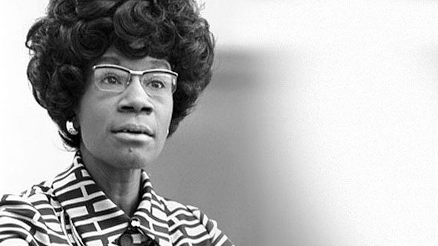 Speakers' corner : Shirley Anita St. Hill Chisholm