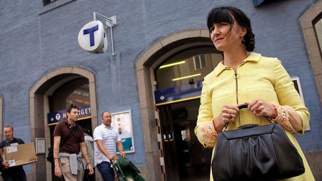 Välkommen till staden : Om tunnelbanan
