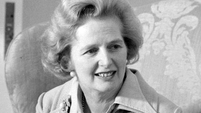 Speakers' corner : Baroness Margaret Thatcher