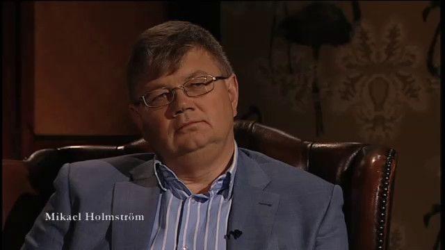 En bok, en författare : Mikael Holmström