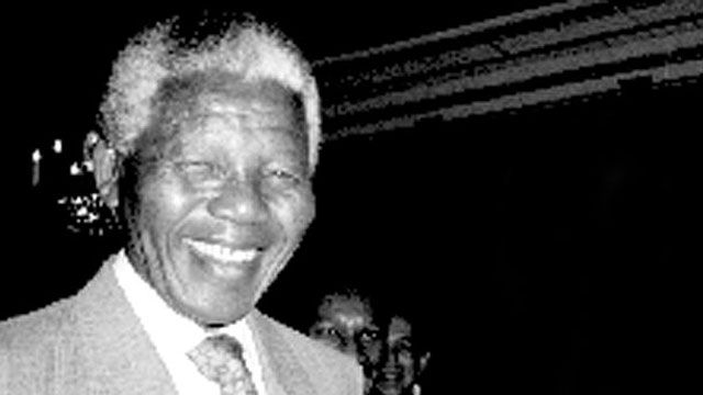 Speakers' corner : Nelson Mandela