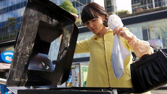 Välkommen till staden : Om sopor