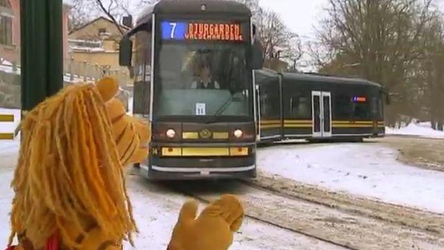 Nu blir det åka av! : Spårvagn