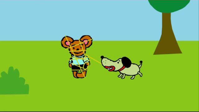 Pinos dagbok - teckenspråkstolkat : Pino och hunden