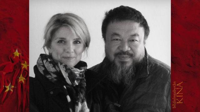 Bildningsbyrån - Kina : Innanför konstnären Ai Weiweis höga mur