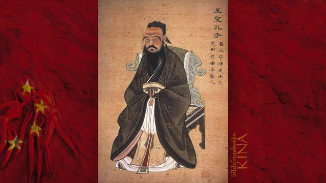 Bildningsbyrån - Kina : Konfucius