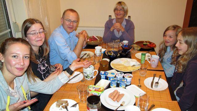 301 Tage, Deutschland : Die Familie