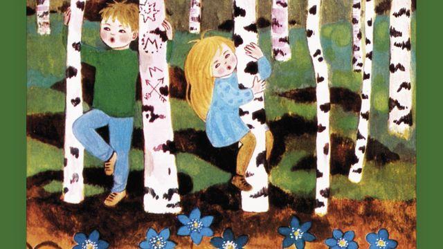 Måns och Mari från vår till vinter : Om våren, del 2