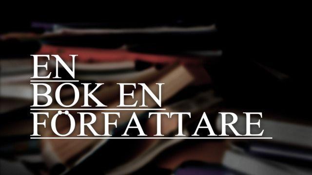 En bok, en författare : Cecilia Wassén