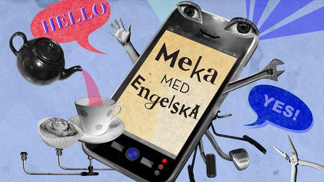 Meka med engelska : Hello