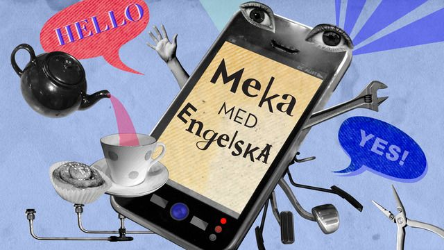 Meka med engelska : Head and shoulders, knees and toes