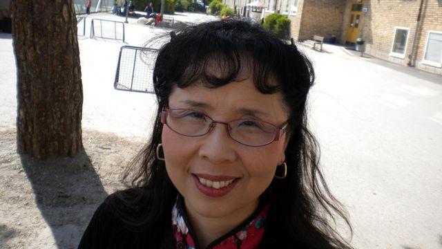 Lärarrummet : Meisang Wang Fredmark, lärare i kinesiska