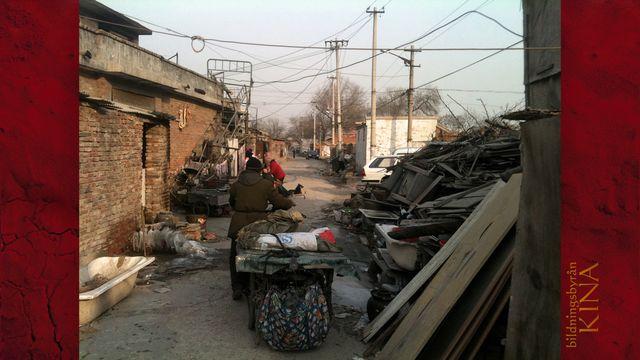 Bildningsbyrån - Kina : Sopor - en miljöbov och resurs