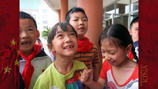 Bildningsbyrån - Kina : Ingen lek i den kinesiska skolan