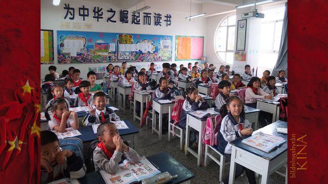 Bildningsbyrån - Kina : Skola i förändring