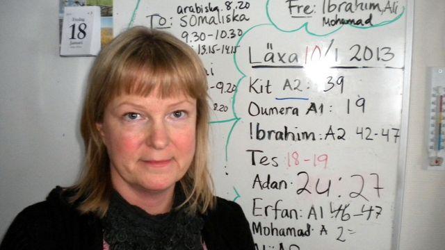 Lärarrummet : Camilla Edvall, svenska som andraspråk