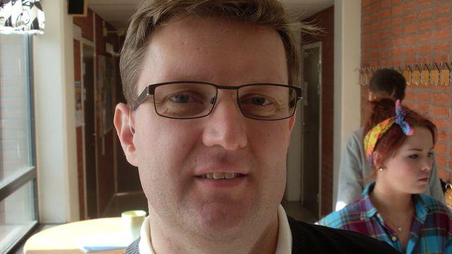 Lärarrummet : Christofer Danielsson, kemilärare