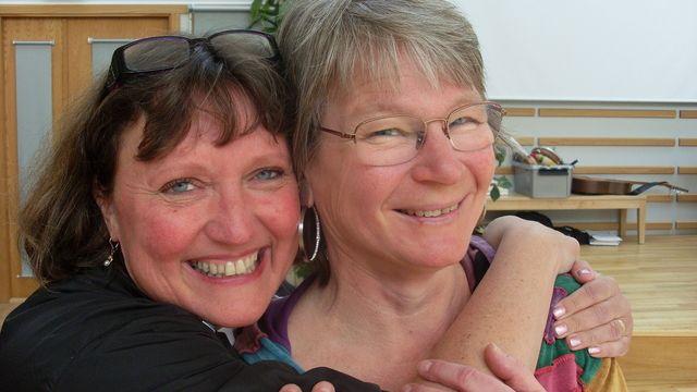 Lärarrummet : Maria och Sussie - dansmatte