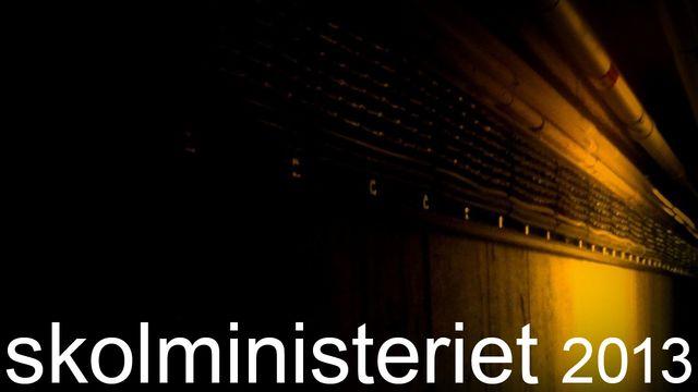 Skolministeriet : De osynliga