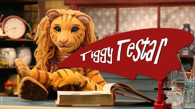 Tiggy testar : Sortera pasta